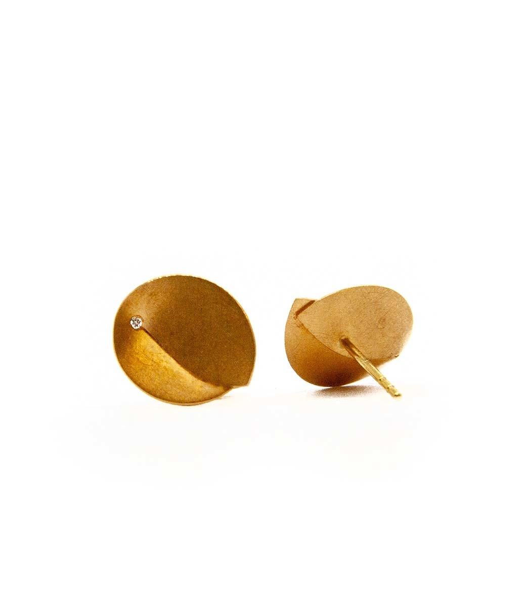 Abalone Earrings 0.02Crt-10