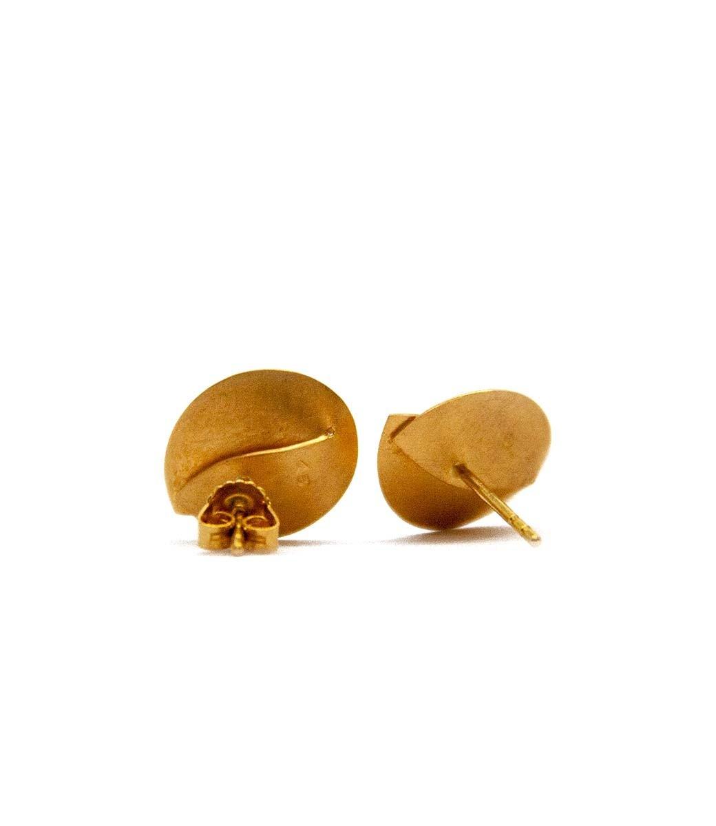 Abalone Earrings 0.02Crt-11