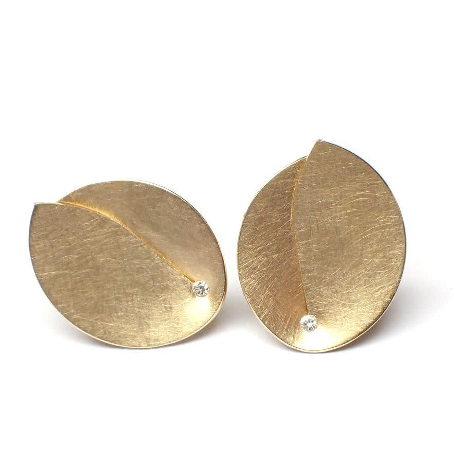 Abalone Earrings 0.02Crt-12