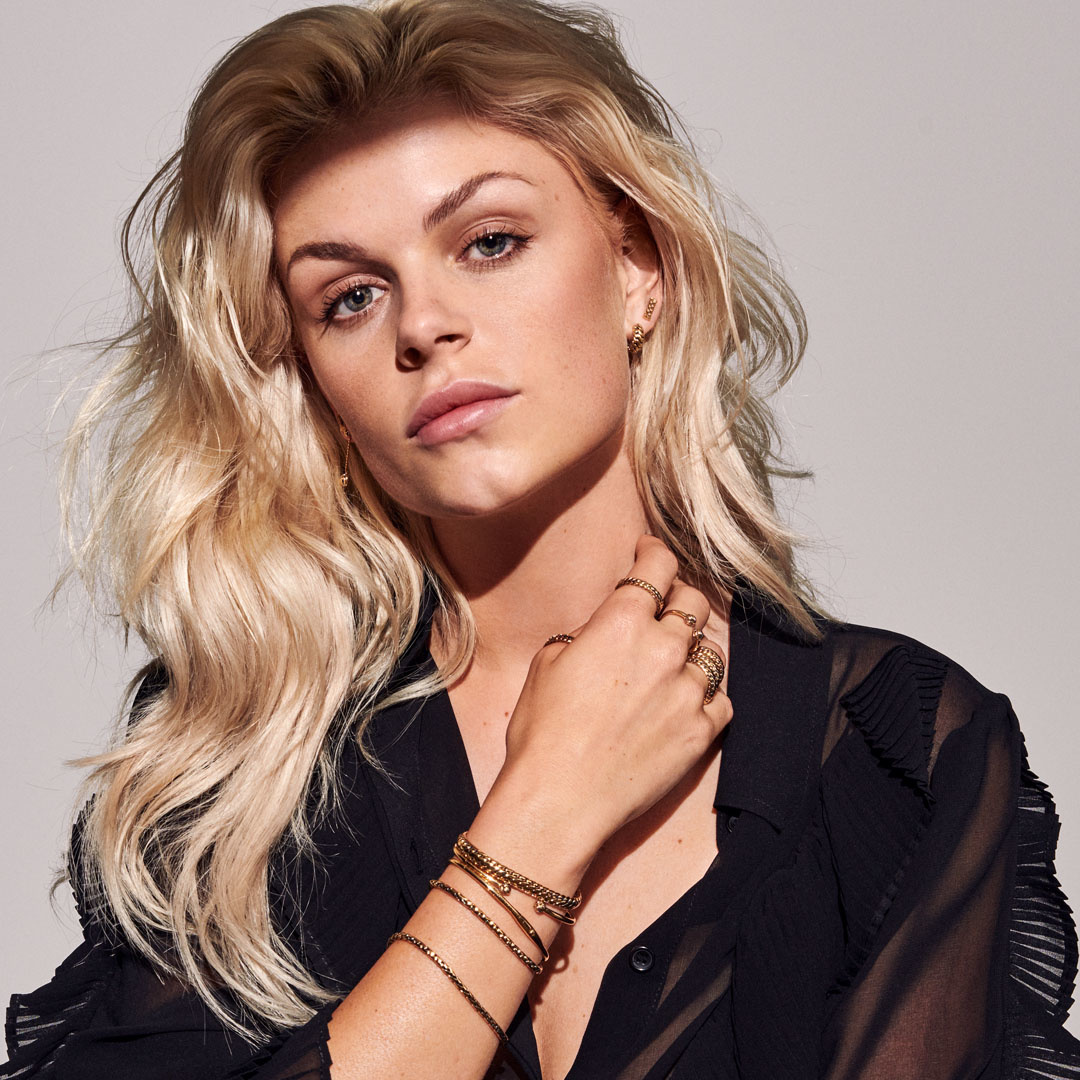 Necklace Refined Katja Gold-7