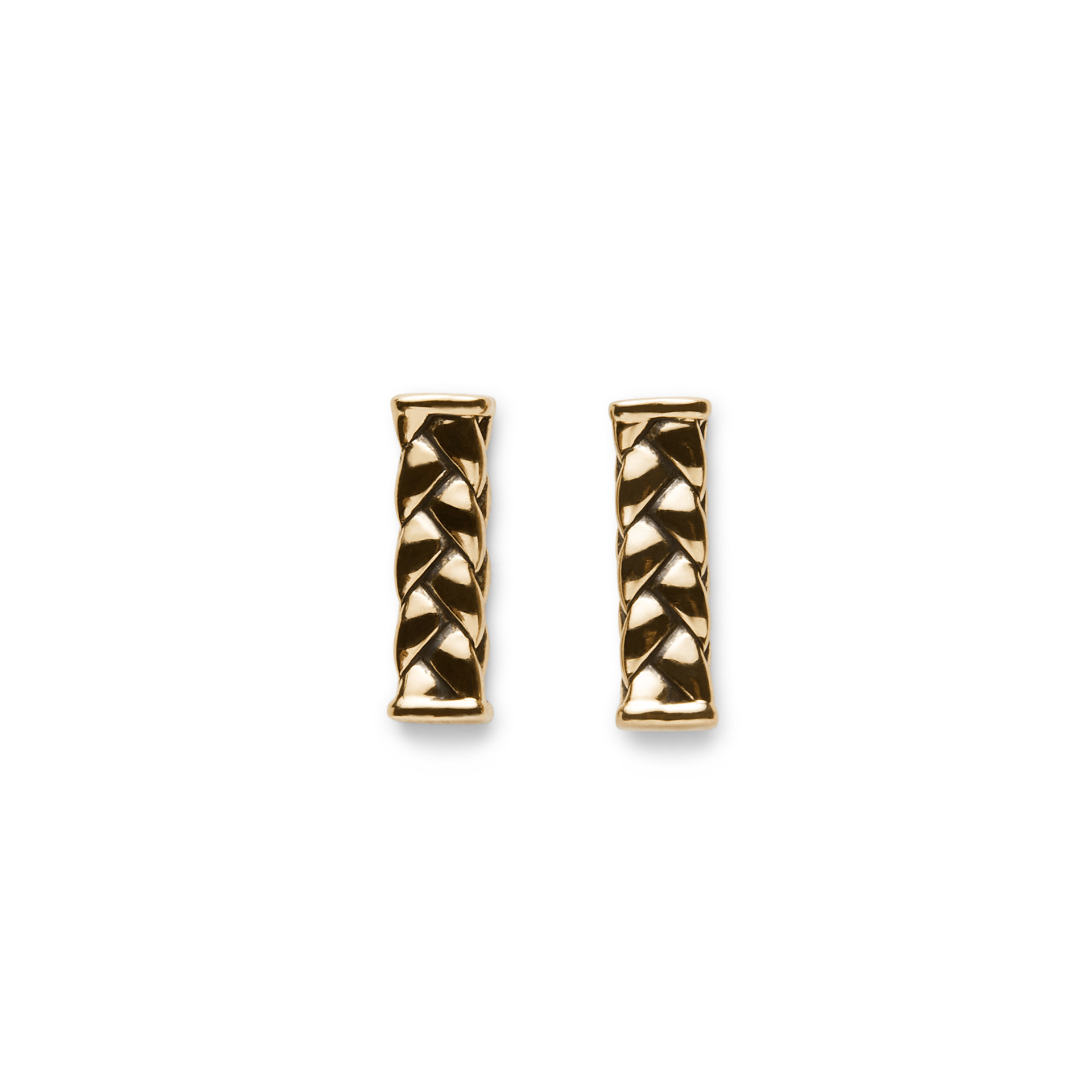 George Earstuds Yellow gold-1