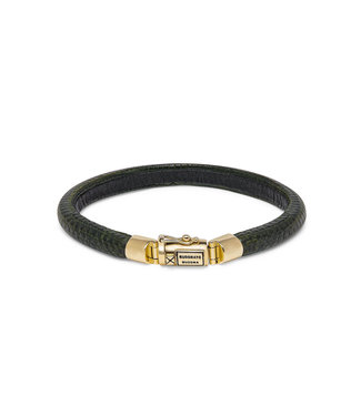 Buddha to Buddha Bracelet Jack Gold Green