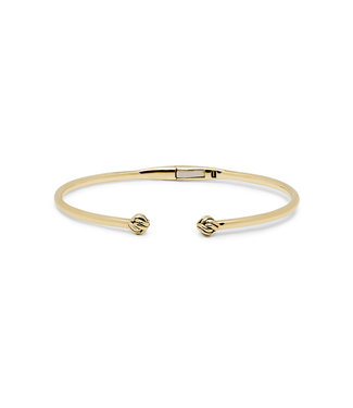 Buddha to Buddha Bracelet Refined Katja Gold Bangle