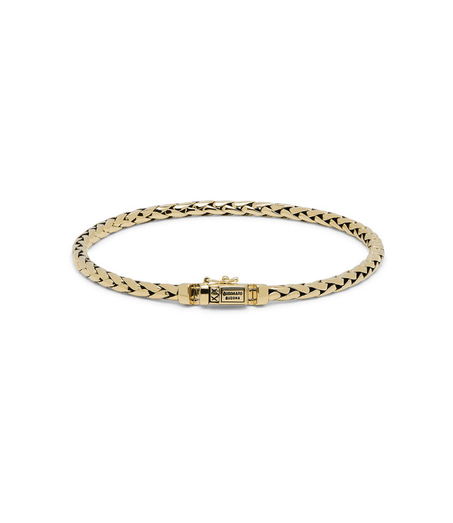 Buddha to Buddha Bracelet George Gold