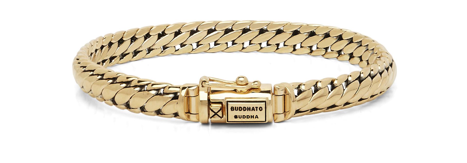 Ben bracelet Yellow gold