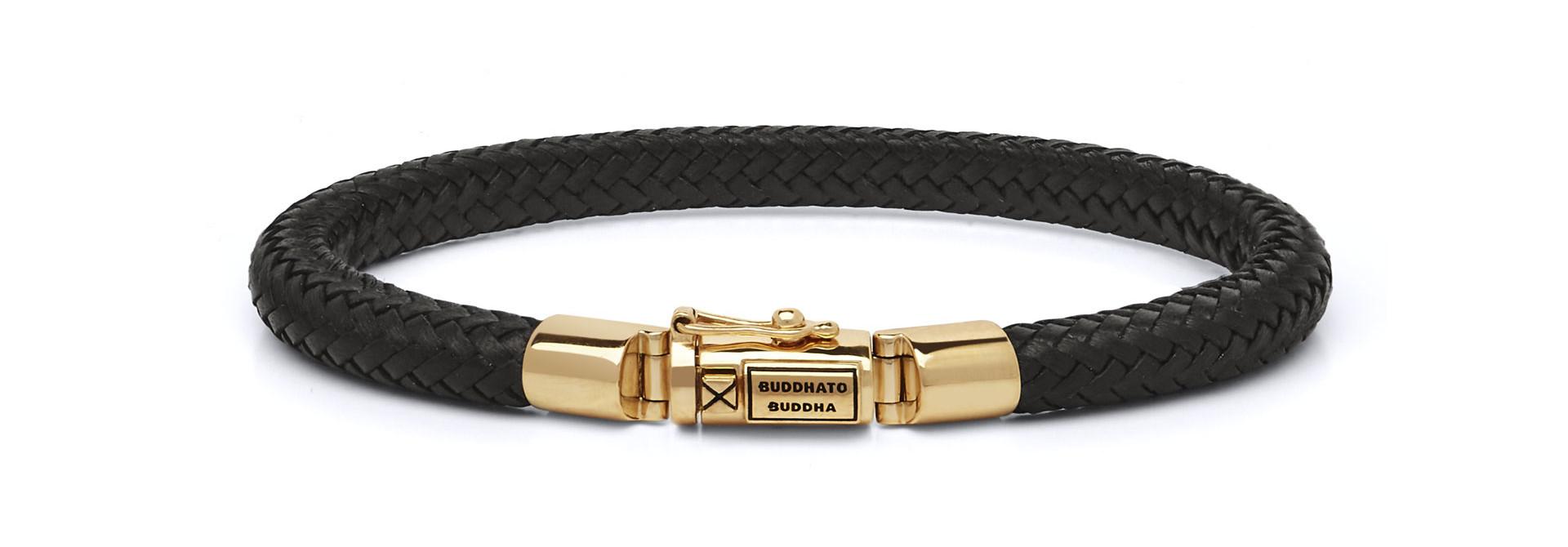 Bracelet Bennett Gold Leather