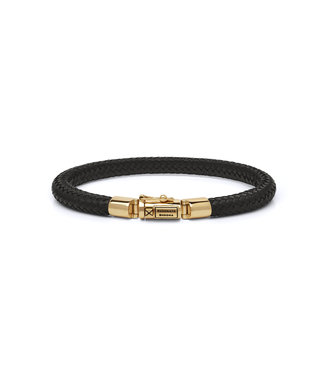 Buddha to Buddha Bracelet Bennett Gold Leather