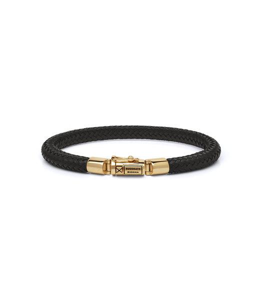 Buddha to Buddha Bracelet Bennett Gold Leather