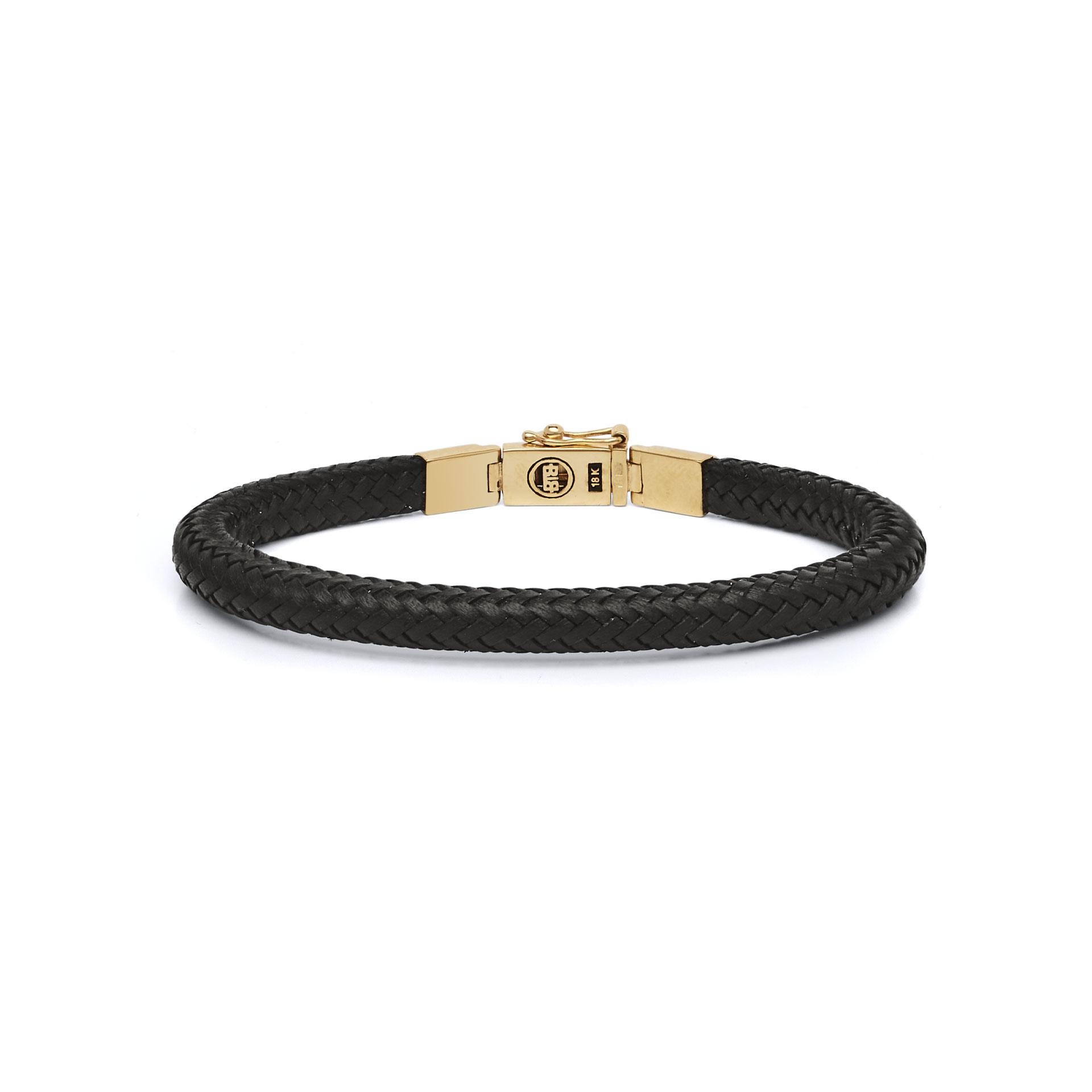 Bracelet Bennett Gold Leather-3
