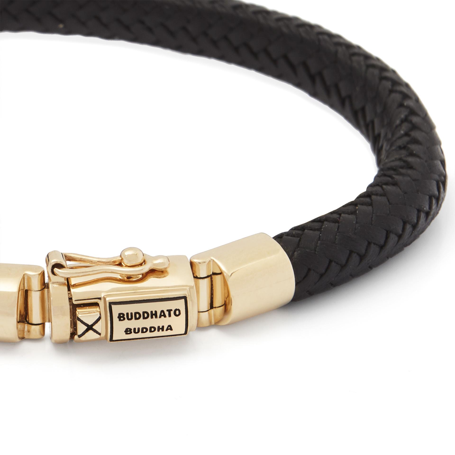 Bracelet Bennett Gold Leather-4