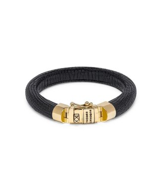 Buddha to Buddha Jack Black Yellow Gold Bracelet