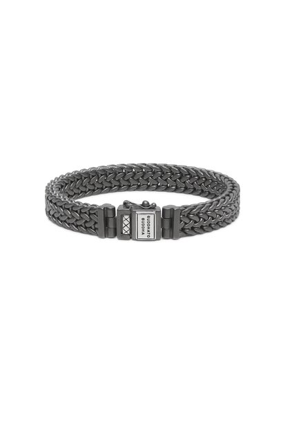 Armband Julius Black Rhodium Zilver