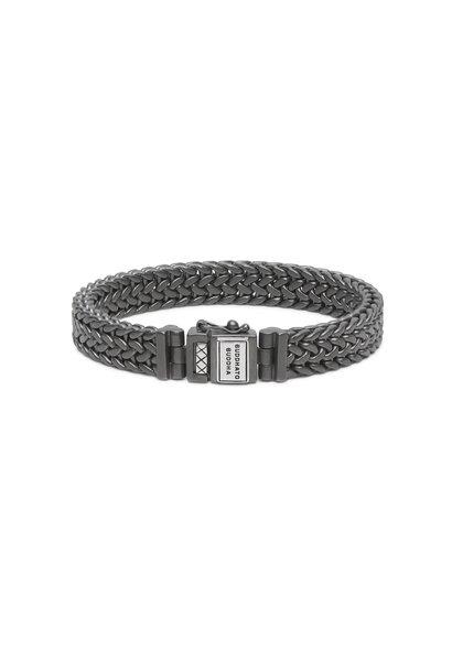 Bracelet Julius Black Rhodium Silver