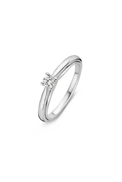 Ring witgoud briljant Caraat 0,20 crt. RG216246