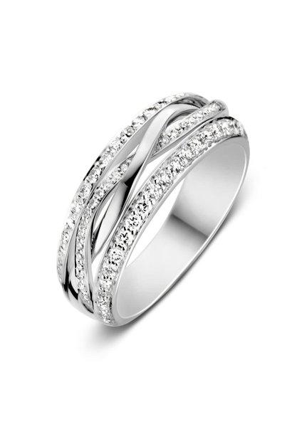 Ring witgoud briljant Caraat 0,57 crt. RP216633