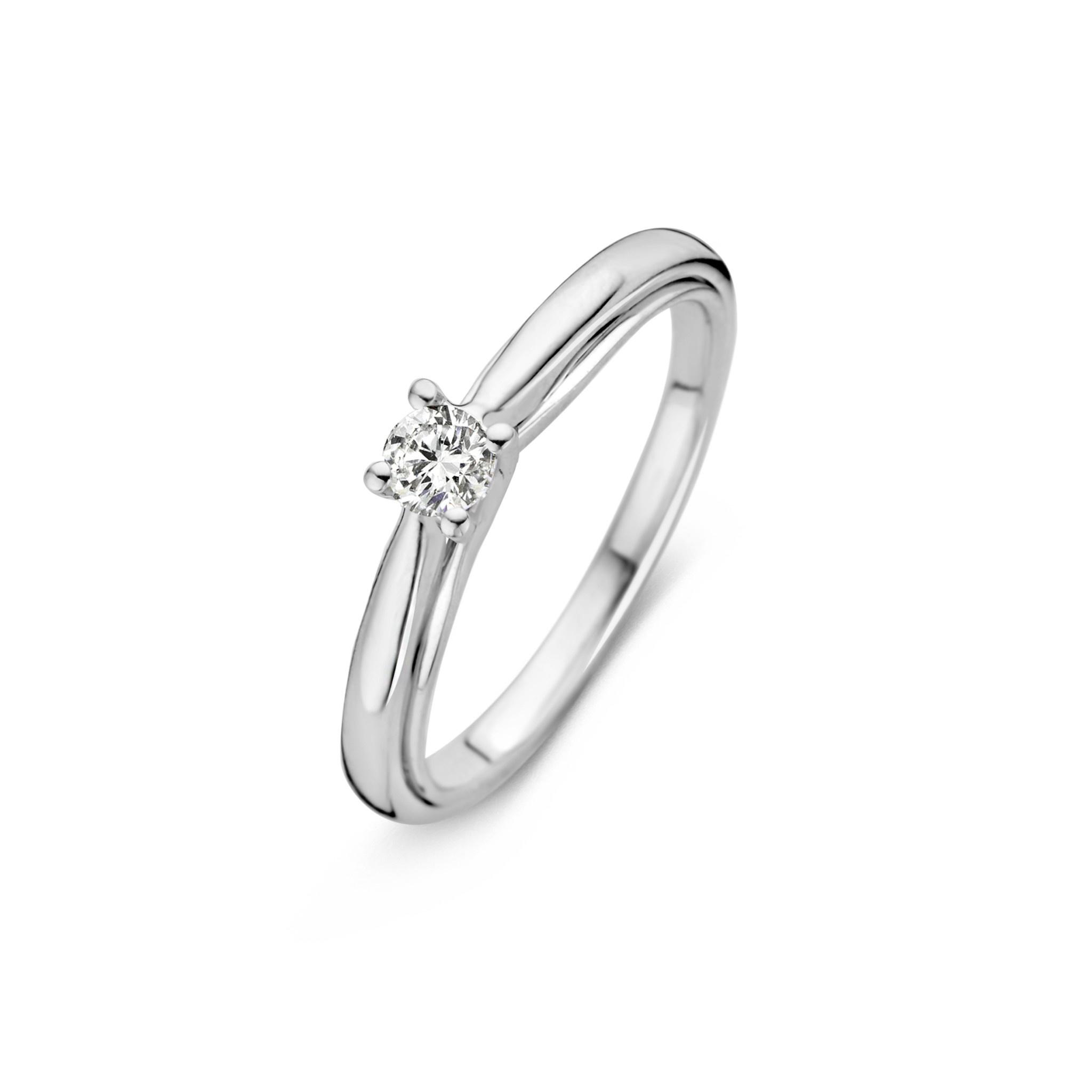 Ring witgoud briljant Caraat 0,20 crt. RG216246-2