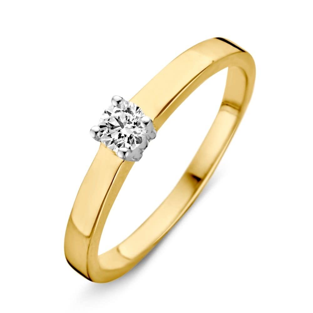 Ring bicolor zirconia RH425874-2