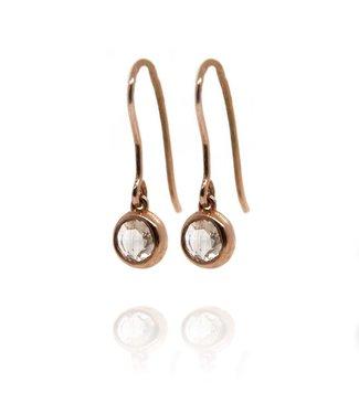 W. de Vaal W. de Vaal - earrings 14k Red Gold.