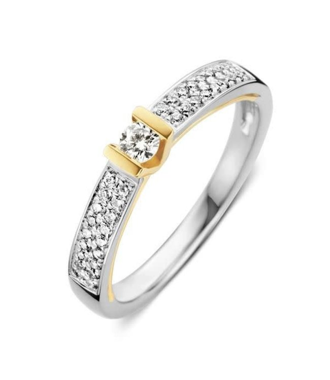 Excellent jewelry Ring bicolor briljant  RG416663