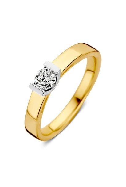 Ring bicolor briljant  RG416837
