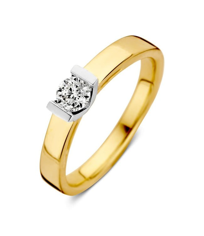 Excellent Jewelry Ring bicolor brilliant RG416837