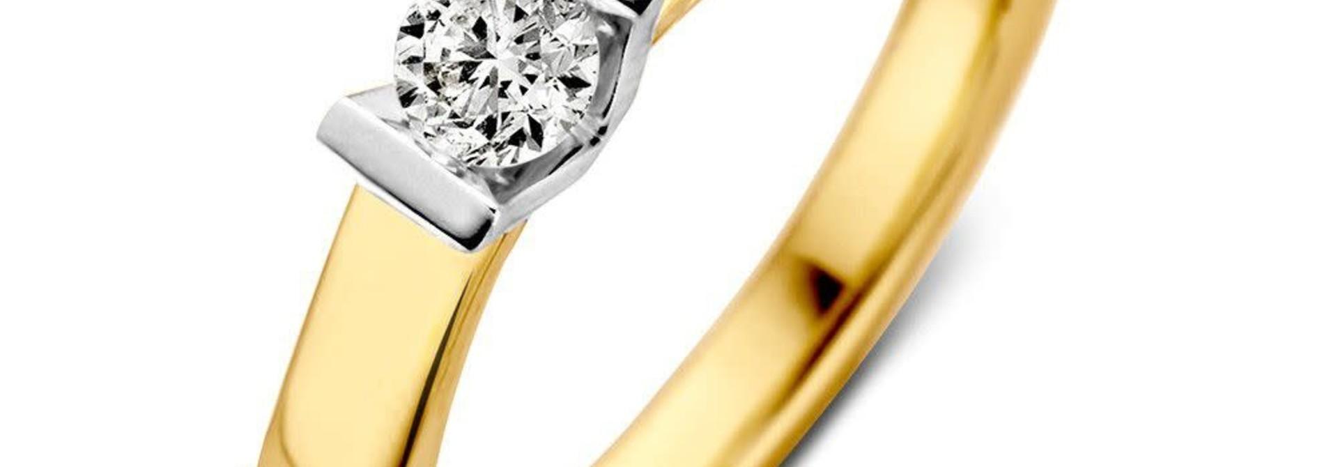 Ring bicolor brilliant RG416837
