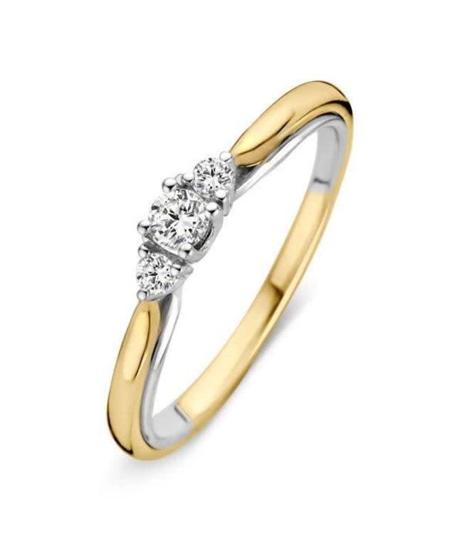 Excellent Jewelry Ring bicolor briljant RG216805
