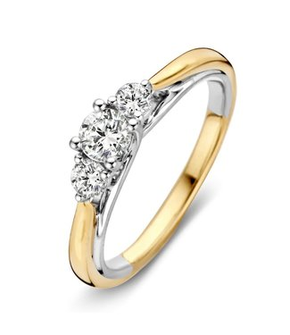 Excellent Jewelry Ring bicolor briljant RG416138