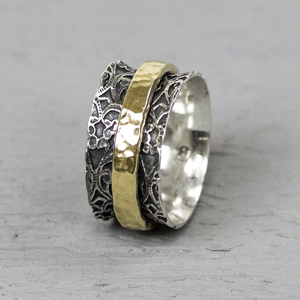 Ring Silver + Gold Filled 19970-9