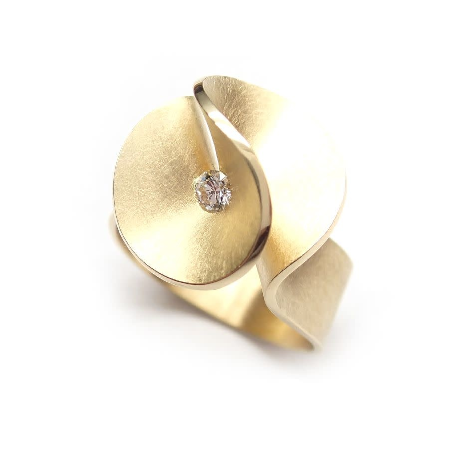 Aster small Ring brilliant 0,07crt-7