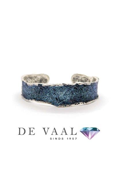 Medium Formentera- Blue intenzza Armband ene contrast