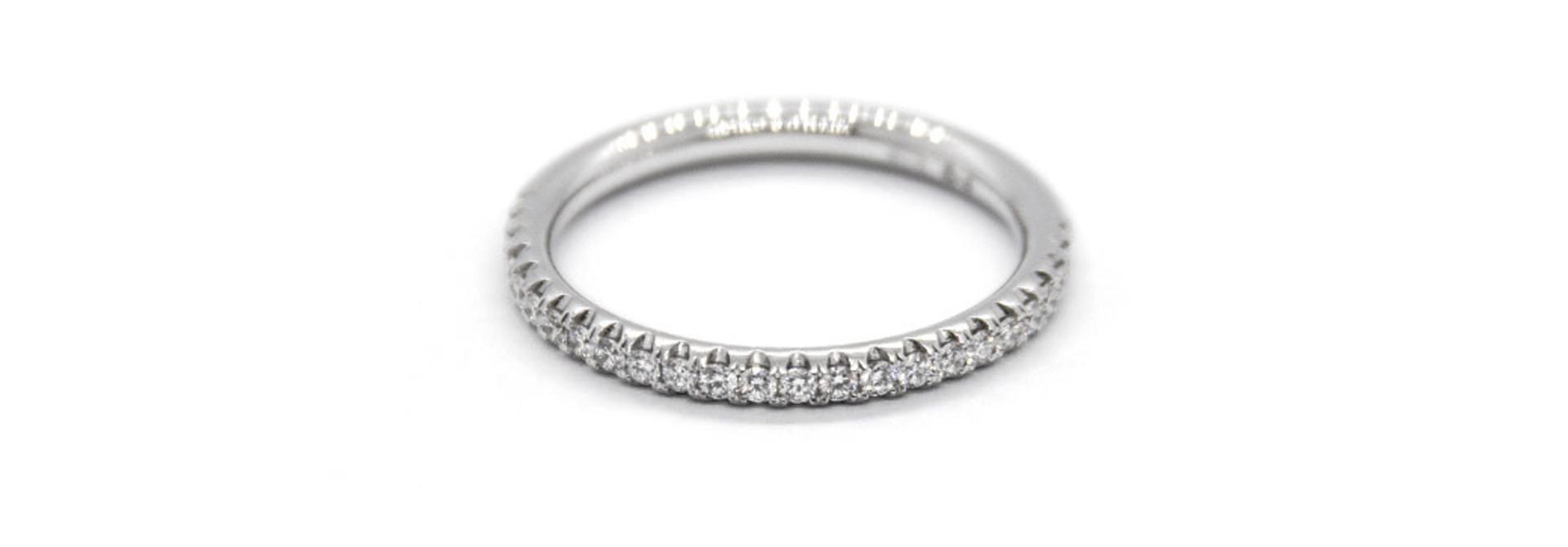 Platinum wedfit AL ring