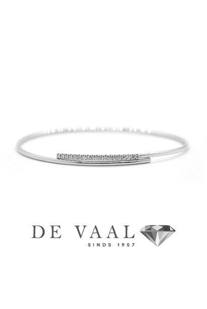 18k white gold bracelet. model 1