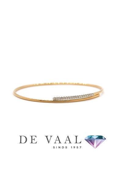 18k rose gold bracelet. model 1