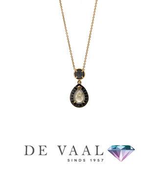W. de Vaal W. de Vaal - Collier 14krt Geelgoud.