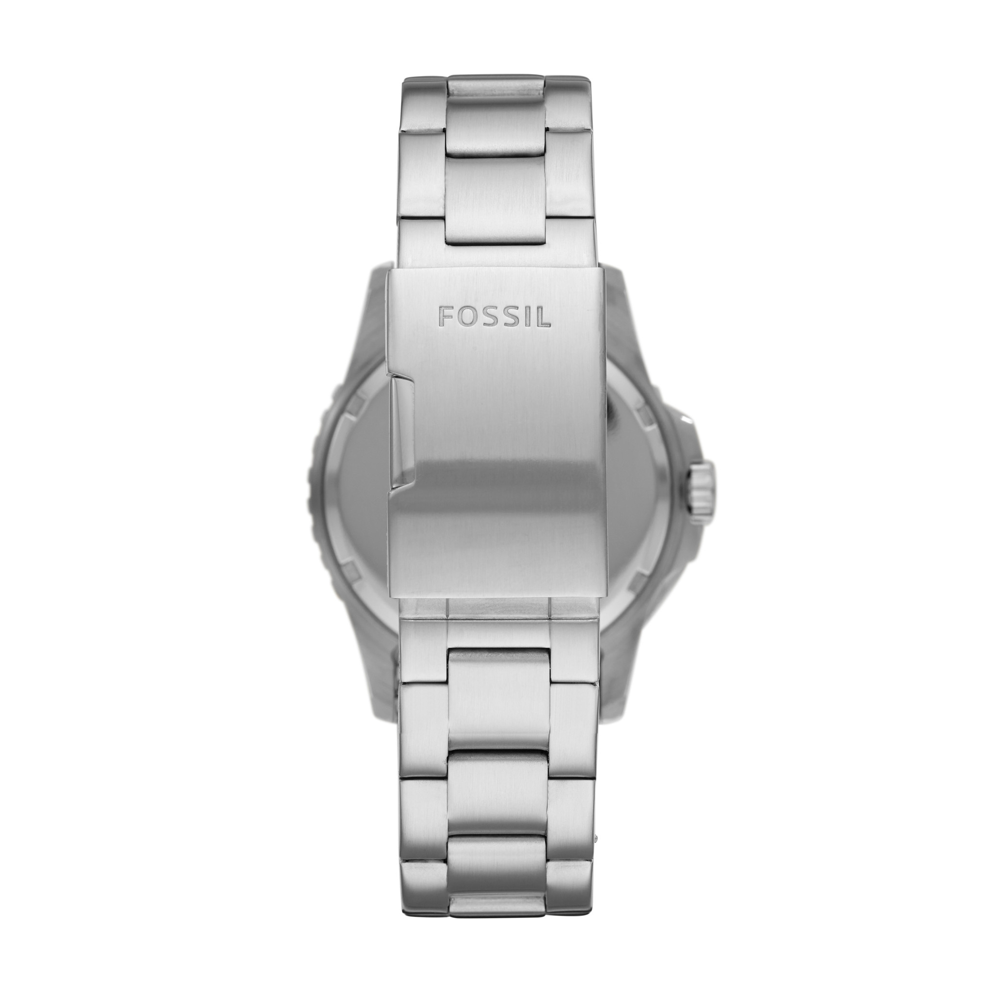 Fossil FB-01 Three-Hand Date Stainless Steel Watch FS5657-2