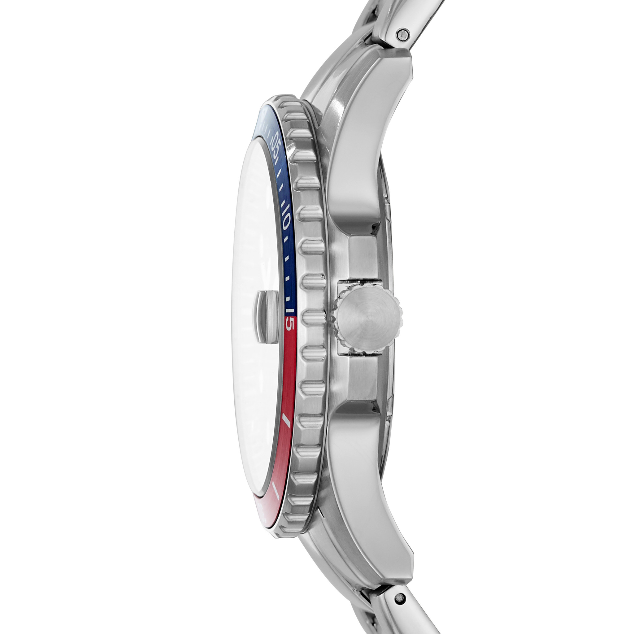 Fossil FB-01 Three-Hand Date Stainless Steel Watch FS5657-3