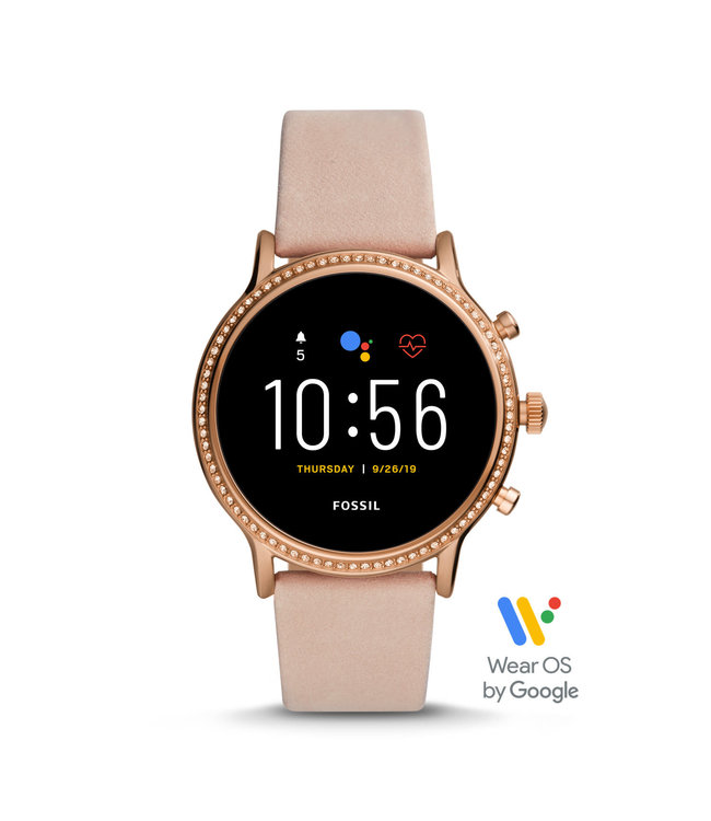 Fossil Gen 5 Smartwatch - Julianna Hr Blush Leather FTW6054