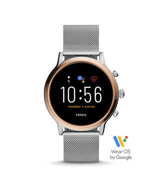 Fossil Gen 5 Smartwatch - Julianna Hr Stainless Steel Mesh FTW6061