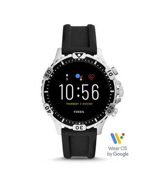 Fossil Gen 5 Smartwatch - Garrett Hr Black Silicone FTW4041