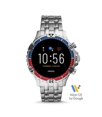Fossil Gen 5 Smartwatch - Garrett Hr Stainless Steel FTW4040