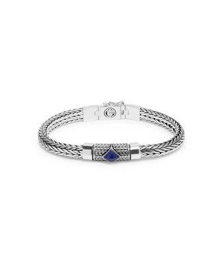 Buddha to Buddha Buddha to Buddha Ellen XS Stone armband Blue (SALE)