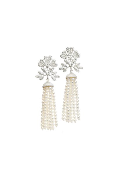 "Earrings ""Miss Aida tassel"""