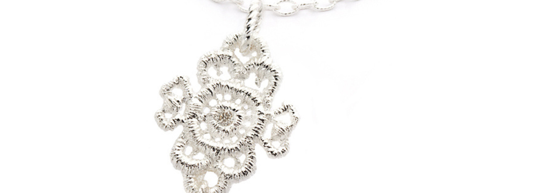 "Necklace pendant ""Mona Lisa"""