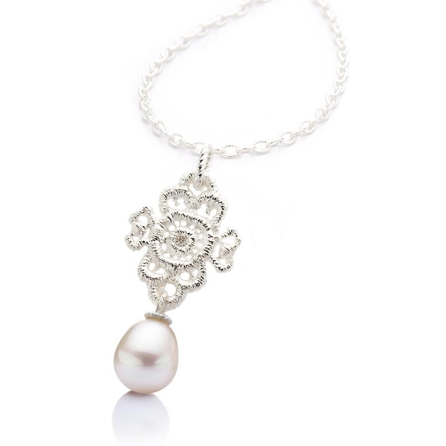 "Necklace pendant ""Mona Lisa""-1"