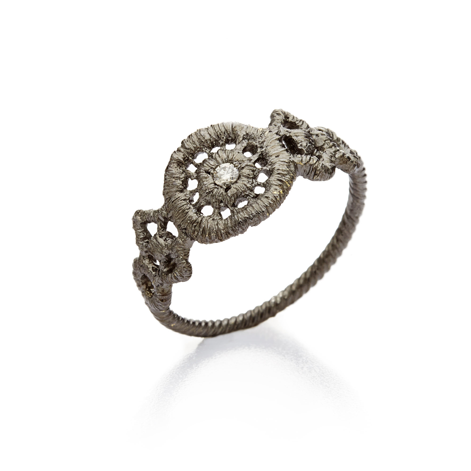 "Ring or knuckle ring ""Turandot""-3"