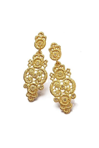 "Earrings ""Turandot"""