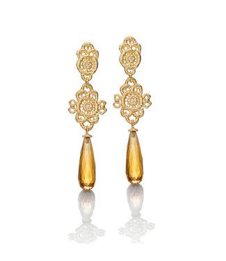 "Brigitte Adolph Pendant earrings ""Madame Favart"""