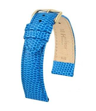 Hirsch Horlogebandje Rainbow Kalfsleer Koningsblauw