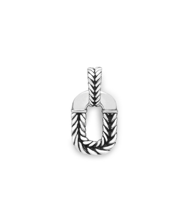 Barbara Link Pendant  Silver